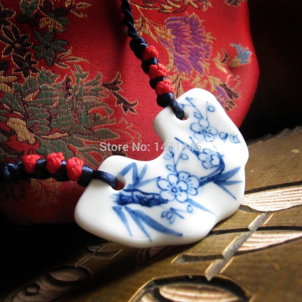 Porcelain Pendant Blanks Blanks Charm Pendant Free
