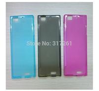 Lenovo K900 Smartphone High Quality MATTE Silicone Case Cover + Screen Protector