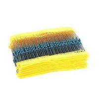 Free Shipping 600 Pcs 1/4W 1% 20 Kinds Each Value Metal Film Resistor Assortment Kit Set