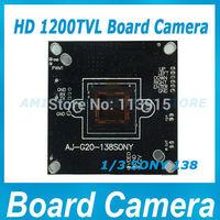 HD 1200TVL SONY CCD Board Camera Module CCTV Camera Module PCB Sony IMX138 Sensor,FH8520 DSP,1200TVL 5pcs/lot