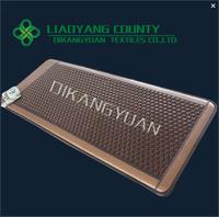 75*180*3cm hexagon tourmaline ceramics heating mattress