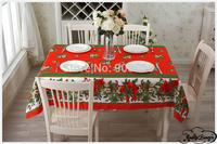 Free shipping-BAS-003-European polyester plain it coffee shop restaurant Christmas tablecloth