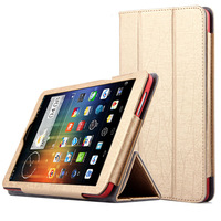 20pcs/lot, DHL or Fedex Free Shipping 2014 new fashion  Pu leather silk stand trifold case cover for dell venue 8 android