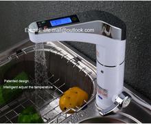 3000w automático inteligente display lcd água instantâneo elétrico aquecimento torneira(China (Mainland))