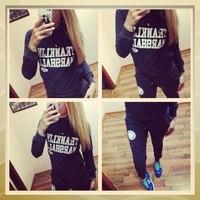 2014 new fashion women sport suit women hoodies tops+pants warm women suit  set sport clothing brand hoody hot salesale