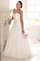 cheap  Sweep Train New Plus Size lace Wedding dress Wedding gown vestido de noiva fashionable vintage frozen elsa wedding dress