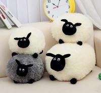 25cm Cute Shaun the sheep lamb plush toys wholesale Birthday Christmas gift bag sends kids,Free shipping, Best gift,X952