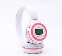 Free Shipping, 1PCS/Lot Screen folding sports mp3 headphone  Zealot N85 Micro SD support fm radio computer head phone headband