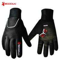 boodun winter riding gloves wind plus velvet warm gloves riding mountain bicycle cycling bikes gloves for men and women