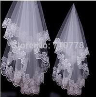 130cm Bridal Veils Elegant Wedding Accessories Dress Bride Cathedral Chapel