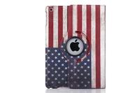 Fashional new arrival Retro USA & UK National Flag Pattern Stand Book PU leather case Stand cover For ipad mini ipad mini retina