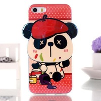 For iphone 5 case soft TPU cartoon design phone case cover for iphone5 5s free shipping
