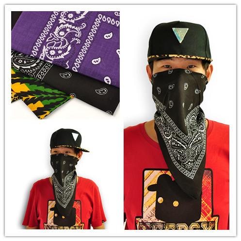 2015 Hot Sell Fashion Men Bandana Headwear Hair Band Scarf Neck Wrist Wrap Band Hair Styling Head Accessories Headband(China (Mainland))