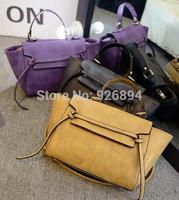 New famous brand design simple tassel PU fashion handbag shoulder bag female hand across-body messenger bag free shipping