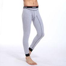 free shipping men underwear steel warm pants male long johns men's trousers warm underpants(China (Mainland))