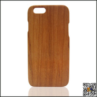 for iphone6 plus wood case, 100% natural cherry wood case for iphone 6 plus 5.5 inch