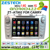 ZESTECH Factory OEM DVD Android 4.2.2 system 2011 car accessories for toyota camry accessories