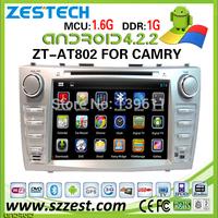 car dvd navigation for Toyota Camry car dvd navigation system 3G audio dvd player 2011 ZT-AT802