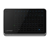 Free Shipping LOFREE MT-200 Multi-touch 2.4GHz Wireless Mini Touchpad Windows8 Win7 XPUltra-thin portable Keyboard