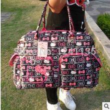 Bonjour Kitty sacs grande de bébé des capacités pour maman maman Baby - Bag Nappy sacs multifonction sac à langer poussette 3 en 1(China (Mainland))