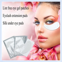 Free Shipping!Alibaba Wholesale Silk Eye Pads,Lint Free Under Eye Pads,Waterproof Eye Patch Eyelash Extension Patch Makeup Tools