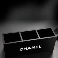 2014 Christmas Gift Luxury Famous Brand Acrylic Cosmetic Makeup Box Bag Storage  Wedding Bithday Gift Limited Edition