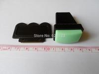 NEW soft  XL Rectengular Nail Stamper BIG Rubber Stamp + Scraper set