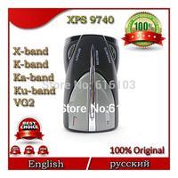 High Quality Cobra XRS 9740 Car Radar Detector 15 Band Supporting English&Russian Language