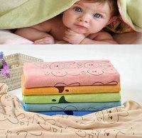 A Lot 3Pcs Baby Bath Towel 70*145cm Absorbent Microfiber Beach Towel Boys Girls Drying Washcloth Swimwear Shower Cartoon Towels