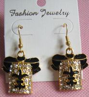 2014 hot sale new  Unique Women Jewelry clothing Flowers Earrings Luxury Fashion Ear cuff Earrings Free shipping direct selling