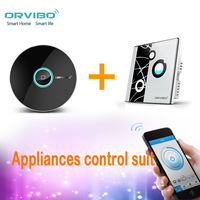 Orvibo Smart home system  phone wireless Lighting contral Suit AllOne remote and 2 way loop switch group Free Shipping