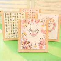 Free shipping Dream Flower  language  Wooden calendar / Creative 2015  desktop Calendar 4 design