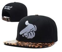 NEW 5 panel Rock Snapback cap for men Bones Hip hop cap raider Baseball hats for women SSUR Finger Gorras cap Adjustable 9styles