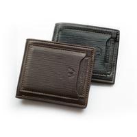 Outside card men wallet embossing card bag high-grade soft purse Retro European American wallets carteira feminina free shipping