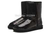 2014 New Women Boots,Winter ankle Boots platform,Fashion Short Snow Boots,Warm Women Shoes Botas Sequins Beading Winter Shoes