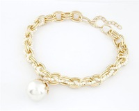 Hot-Selling luxury Exquisite  fashion elegant simplicity big pearls mixed wild accessories  necklaces for women Jewelry MD1143
