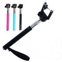 NEW Accessories Extendable Handheld Aluminum Alloy Flexible Telescopic Monopod Tripod Holder for Go Pro HD Hero1 2 3 Carmera