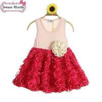 new dress summer children clothing little queen flower girl dress toddler dresses girl baby girl dresses baby girl dresses