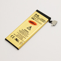 new high capacity Replacement Li-Ion 3.7V 2680mAh gold Battery for Apple iphone 4s + free shipping