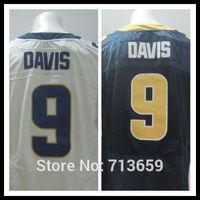 St. Louis #9 Austin Davis Men's Elite Sports Jersey american football Jerseys,Embroidery Logo,Free Shipping,Accept Mix Order
