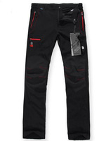 2014 fashion brand quick-drying pants, breathable wear-resistant cycling pants, elastic outdoor sports, Soft Shell pants