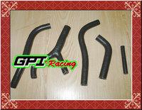 GPI silicone radiator hose FOR HONDA CR250 CR 250 CR250R CR 250R 1983 83 BLACK