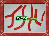 GPI silicone radiator hose FOR   HONDA CR125 CR 125 CR125R CR 125R 1983 83 RED