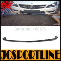 AMG Style W204 Carbon Fiber Front Spoiler ,Auto Car Bumper Lip For Mercedes Benz (Fit W204 C63 AMG Bumper 2012UP Facelift )