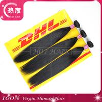 Grade 7A Factory price Malaysian virgin hair 3pcs lot,Human hair extension free shipping by DHL/UPS