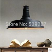 Free shipping Six color retro chandelier chandelier LOFT industrial modern simple metal dining pendant lamp