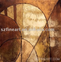 Abstract Oil painting (FA-AB-035)  free shipping