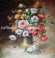 Impressionist oil painting on canvas, Decoration art Flower Oil painting (FA-FL-034)