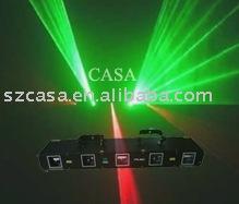 Wholesale&Free Shipping 5 head DPSS Green+red laser light,disco light,dj light(China (Mainland))