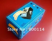 Free Shipping Automatic Card Shuffle SUITABLE FOR 1-2DECKS OF PLAYING CARDSPLASTIC SHELF AUTOMATIC CARD SHUFFLER